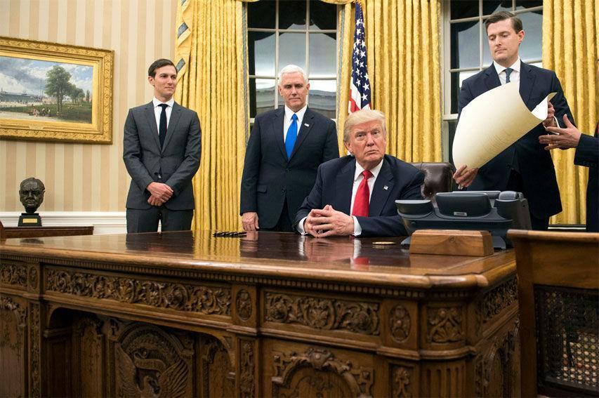تغییرات عجیبی که دونالد ترامپ در بدو ورود به کاخ سفید داد