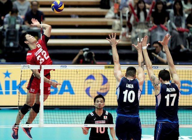 قطر حریف والیبال ایران در نیمه نهایی بازی های آسیایی شد، حذف تلخ ژاپنی ها
