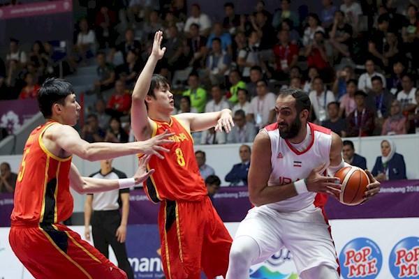 نزول یک پله ای بسکتبال ایران در رده بندی جدید فیبا