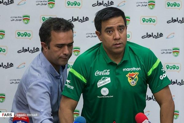 فاریاس: خوشحالم که با ایران بازی می کنیم