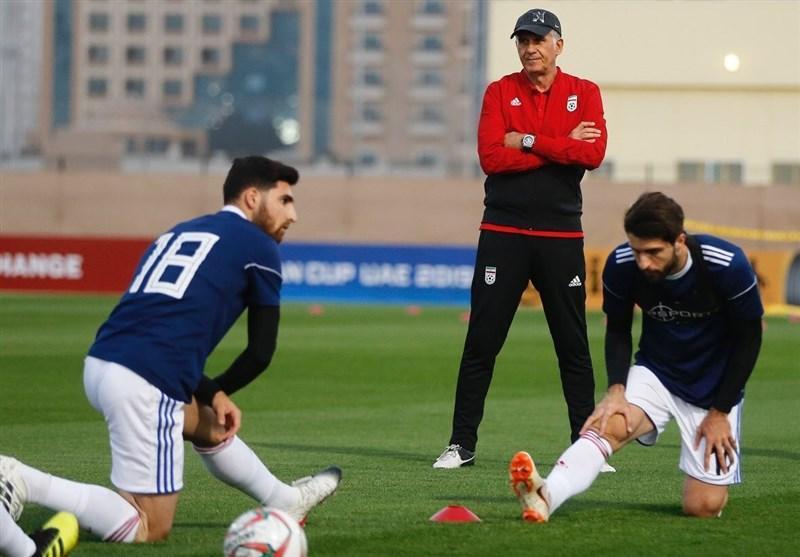 گزارش تمرین تیم ملی فوتبال، دقت کی روش در طراحی تمرینات و حضور چینی ها در تمرین