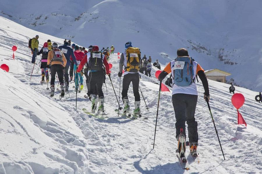 نتایج مسابقات کوه نوردی با اسکی جام فجر