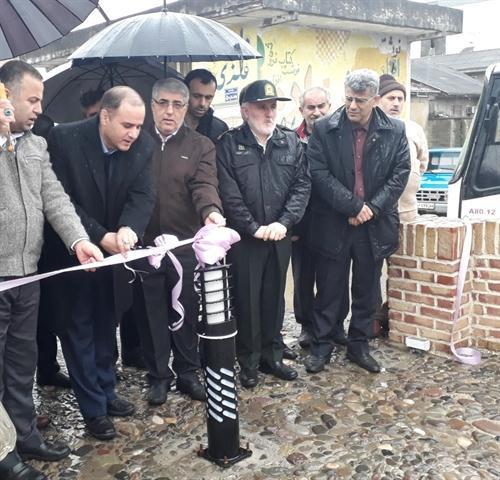 افتتاح پروژه مرمتی پل خشتی فومن
