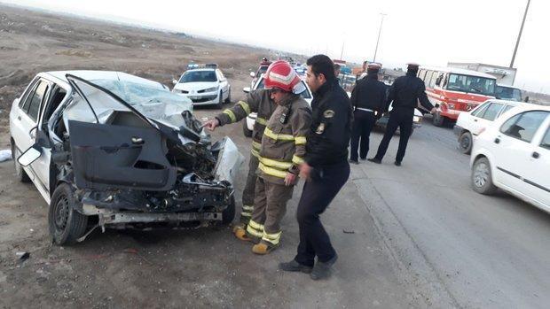 حادثه رانندگی در محور گویجه بل 8 کشته و زخمی درپی داشت