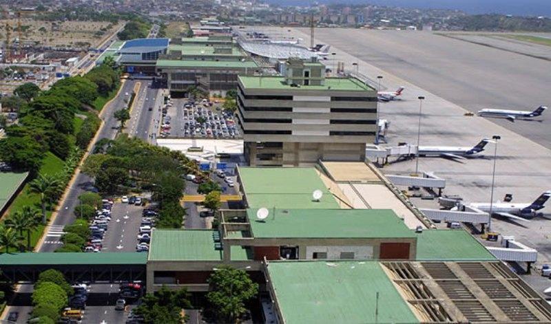 فعالیت مهم ترین فرودگاه بین المللی ونزوئلا متوقف شد