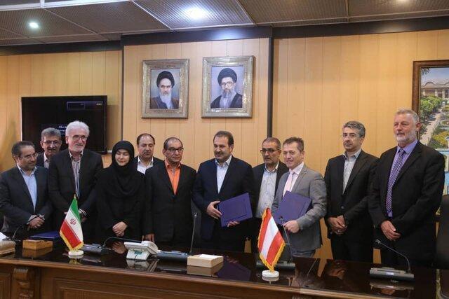 امضای تفاهمنامه سرمایه گذاری بین فارس و یک شرکت اتریشی