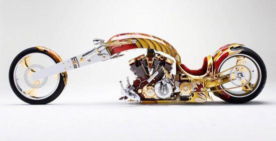 نامتعارف ترین و گران ترین موتورسیکلت های دنیا
