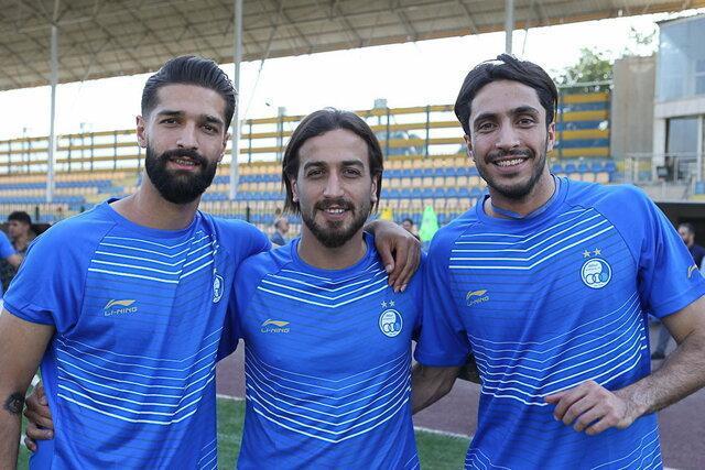 باقری: با اضافه شدن تمام بازیکنان استقلال، فصل را خوب آغاز می کنیم