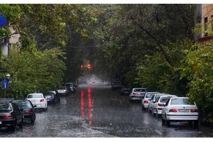 بارش باران و افزایش ابر در گیلان