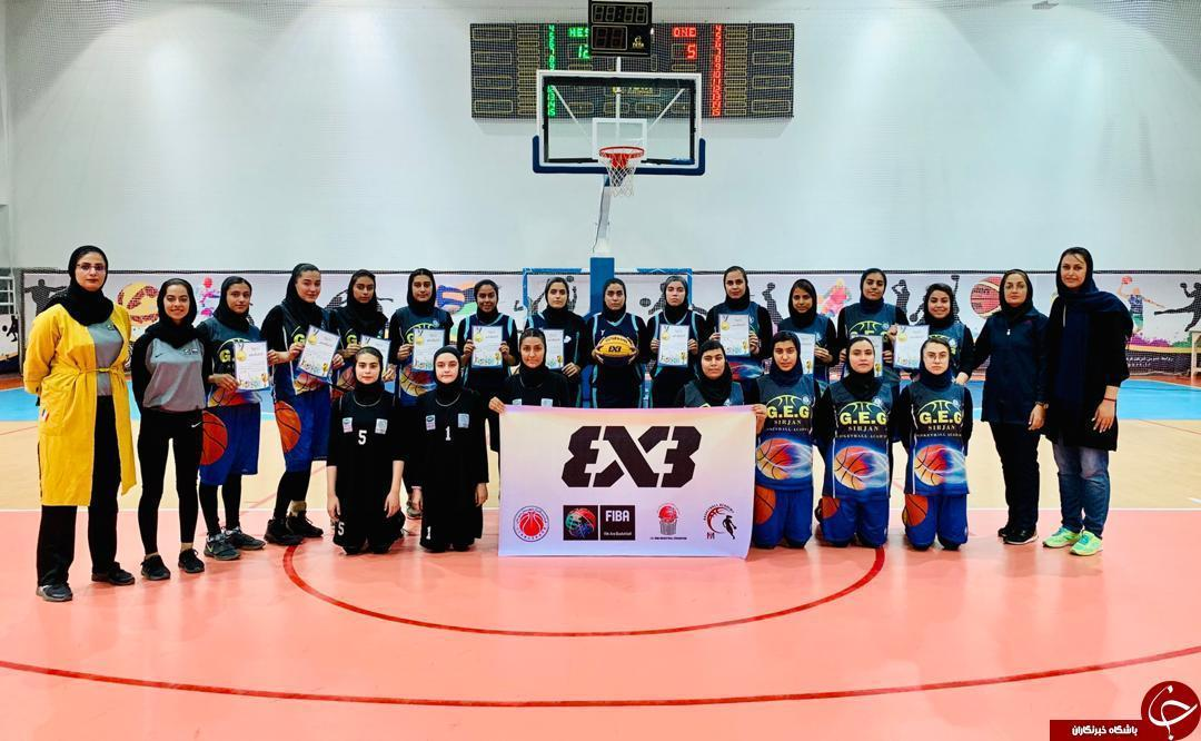 درخشش کرمان در اردوی انتخابی تیم امید بسکتبال بانوان استان