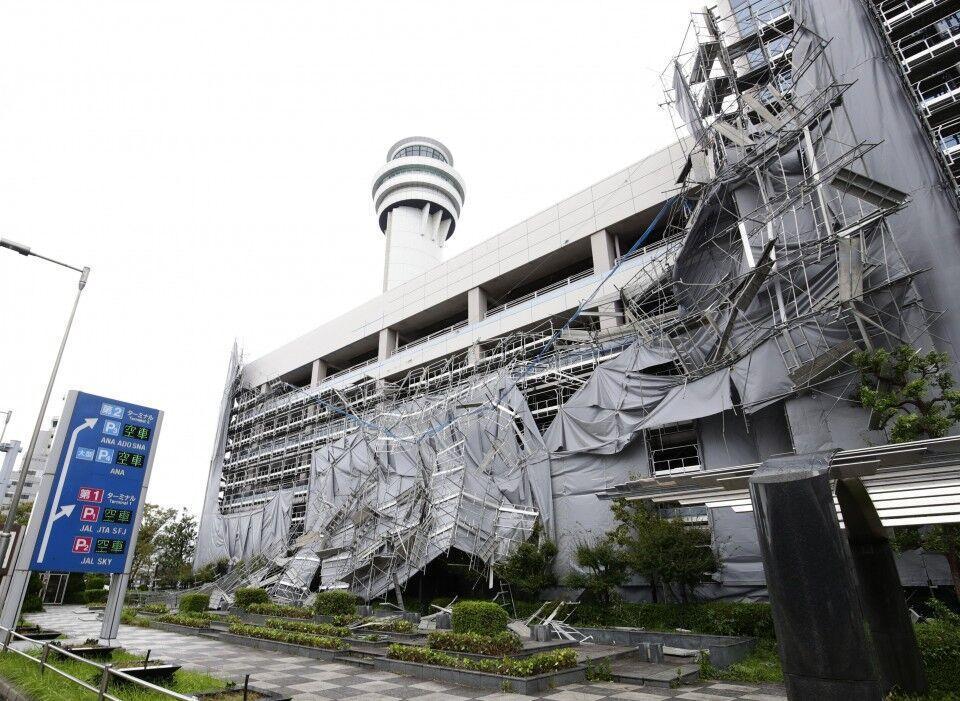 لغو 160 پرواز توکیو در پی توفان فاکسای