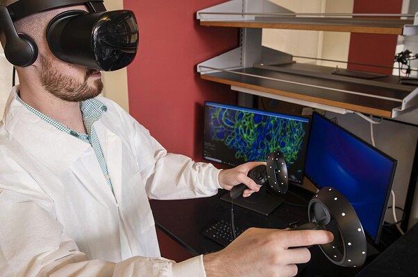 استفاده از فناوری واقعیت مجازی برای کشف آلودگی به اورانیوم