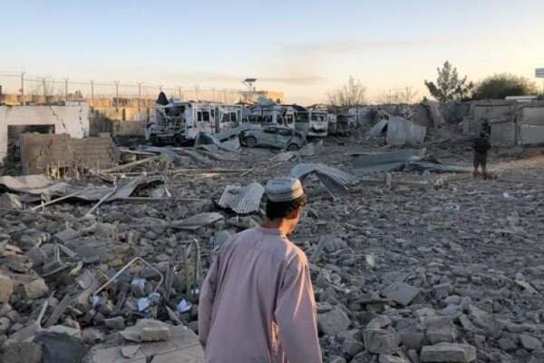 20 کشته در حمله انتحاری طالبان به ولایت زابل افغانستان
