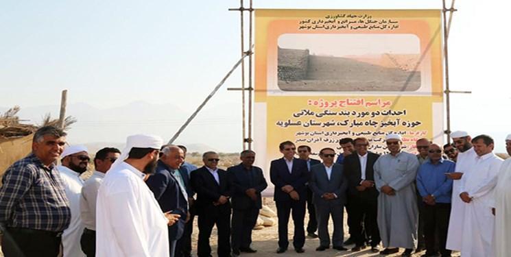 بهره برداری و اجرای سه طرح آبخیزداری در جنوب بوشهر آغاز شد