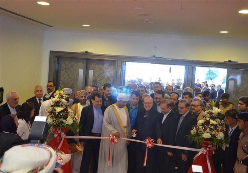 وزیر صنعت از غرفه اتاق بازرگانی یاسوج در نمایشگاه عمان بازدید کرد