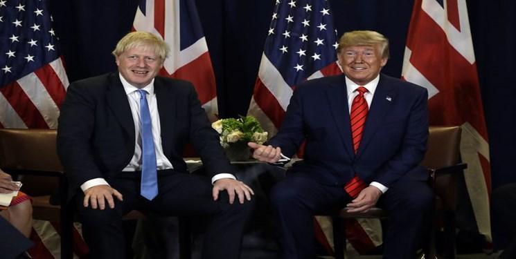ترامپ از جانسون و فاراژ خواست در انتخابات انگلیس با هم متحد شوند