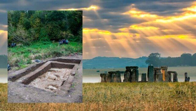 کشف نخستین شهر بریتانیا در نزدیکی سازه استون هنج