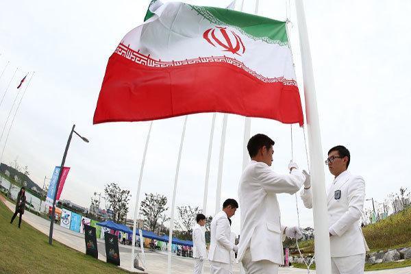مراسم اهتزاز پرچم کاروان ایران آدینه برگزار می گردد