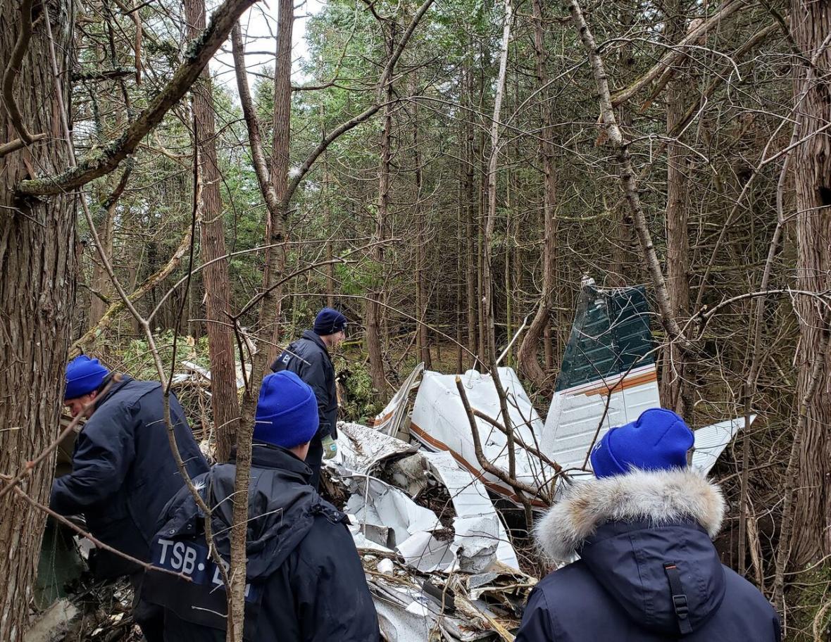 سقوط هواپیما در کانادا 7 کشته برجا گذاشت