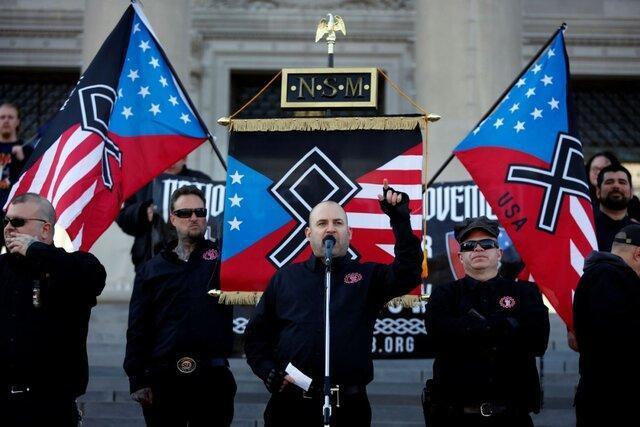 آمریکا صادرکننده ایدئولوژی فزونی سفیدپوستان