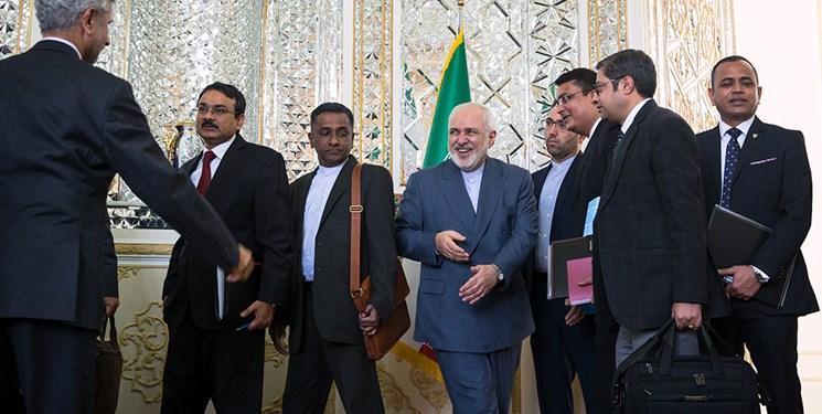 ظریف: روابط ایران و هند گسست ناپذیر است