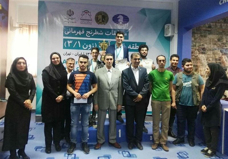 حضور معاون وزیر ورزش در اختتامیه مسابقات شطرنج غرب آسیا