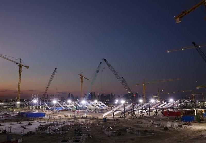 با وجود ثبت 5 مورد ابتلا به کرونا، تاخیری در فعالیت پروژه های جام جهانی قطر ایجاد نمی گردد