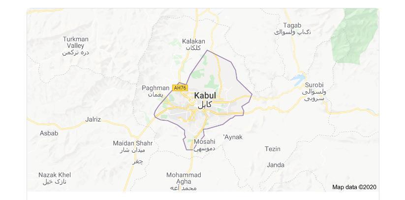 کابل سه هفته قرنطینه می گردد