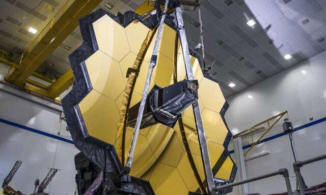 نصب آینه اصلی تلسکوپ فضایی جیمزوب