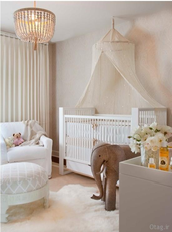 انواع طرح و مدل تخت نوزاد ، عکس دکوراسیون اتاق خواب نوزاد