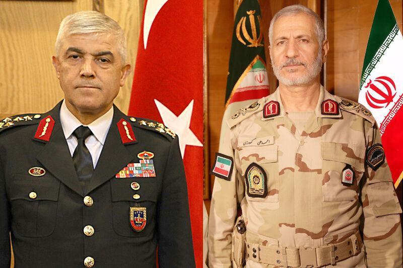 تأکید فرماندهان ژاندارمری ترکیه و مرزبانی ایران بر فرایند تعاملات مرزی