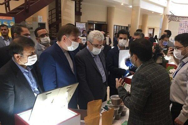 نمایشگاه دستاوردهای شرکت های دانش بنیان و فناور گیلان افتتاح شد
