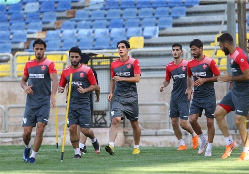 گزارش تمرین پرسپولیس، تدارک بازیکنان برای خداحافظی با بیرانوند در روز غیبت سنگربان جدید آنتورپ