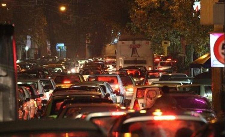 ترافیک سنگین در جهت های شمالی پایتخت