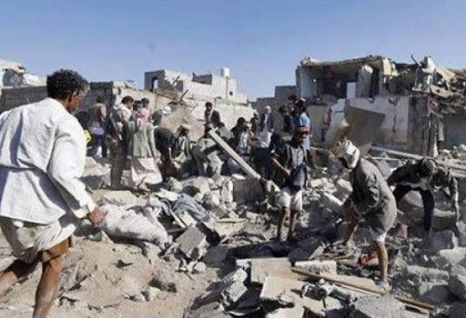 جنگنده های سعودی مأرب یمن را بمباران کردند ، شهادت 4 غیرنظامی