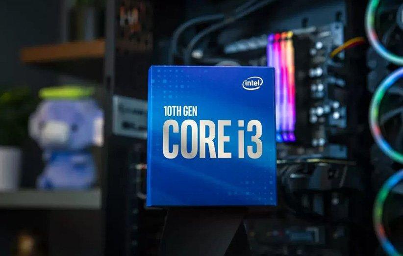 پردازنده 4 هسته ای اینتل Core i3-10100F با قیمت 100 دلار عرضه می گردد