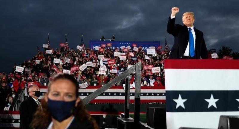 خبرنگاران کوشش های دقیقه 90 ترامپ برای پیروزی در انتخابات آمریکا