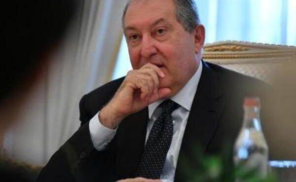 ابتلای رئیس جمهور ارمنستان به کرونا