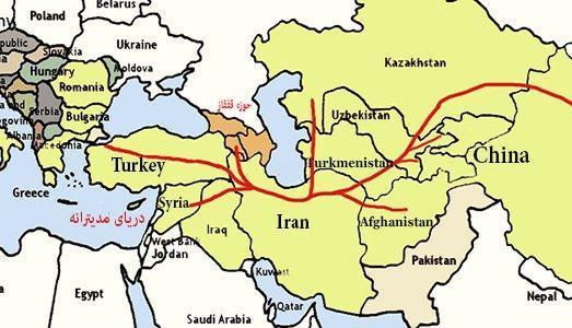 کریدور شرقی-غربی ؛ گزینه استراتژیک ایران برای ترانزیت