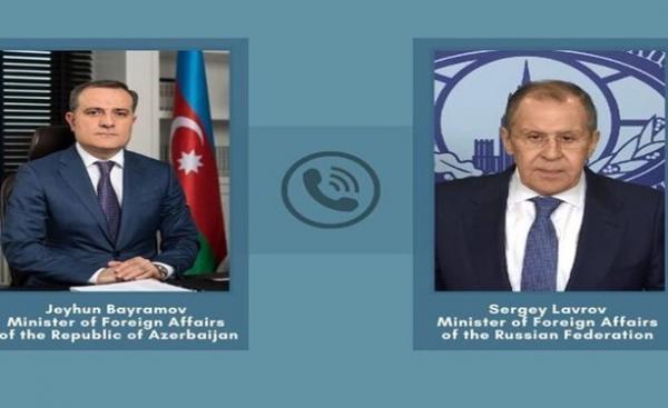 وزیران خارجه روسیه و جمهوری آذربایجان در مورد توافق قره باغ مصاحبه کردند خبرنگاران