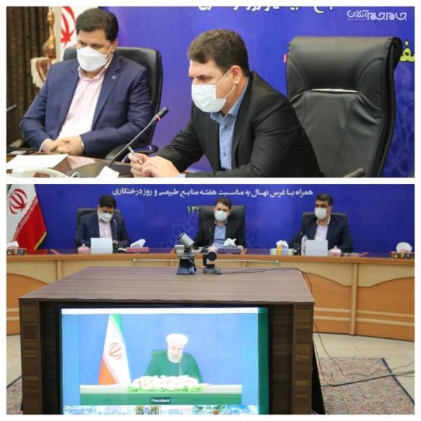 رونمایی از طرح های عمرانی شهرداری های استان کرمان
