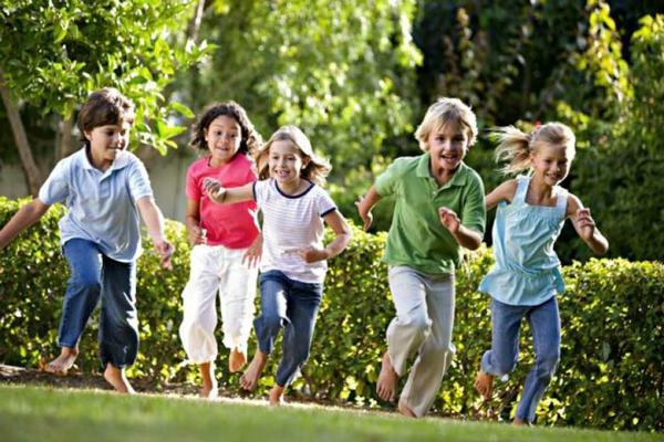 مهار التهاب بچه ها به یاری فعالیت بدنی