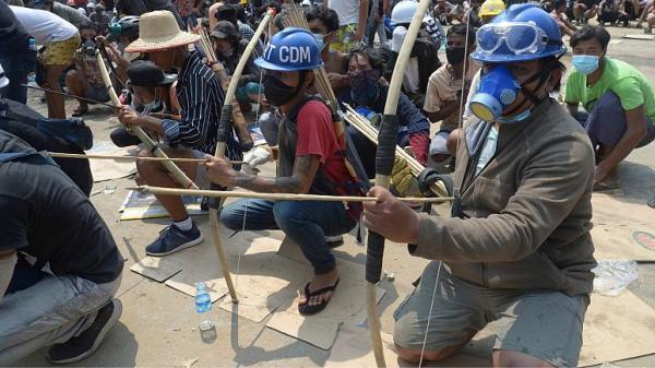 شمار کشته شدگان اعتراضات میانمار از 500 تن گذشت، معترضان باز در خیابان ها