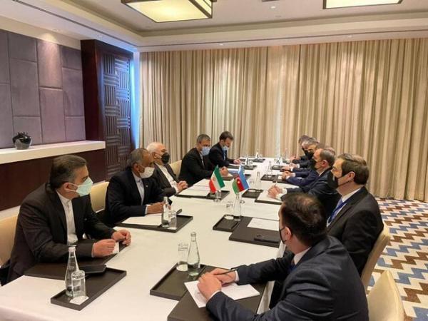 ملاقات ظریف با وزیر خارجه آذربایجان خبرنگاران