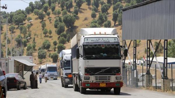 صادرات بیش از 138 تن کالا از گمرکات ایلام به عراق