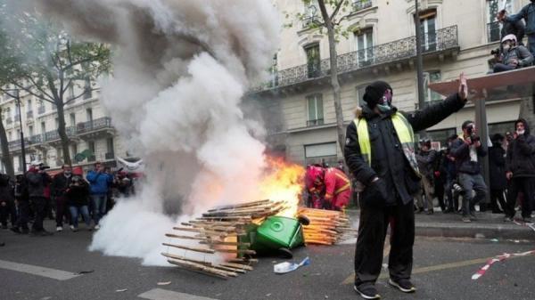 روز جهانی کارگر؛ خشونت پلیس مقابل معترضان در اروپا