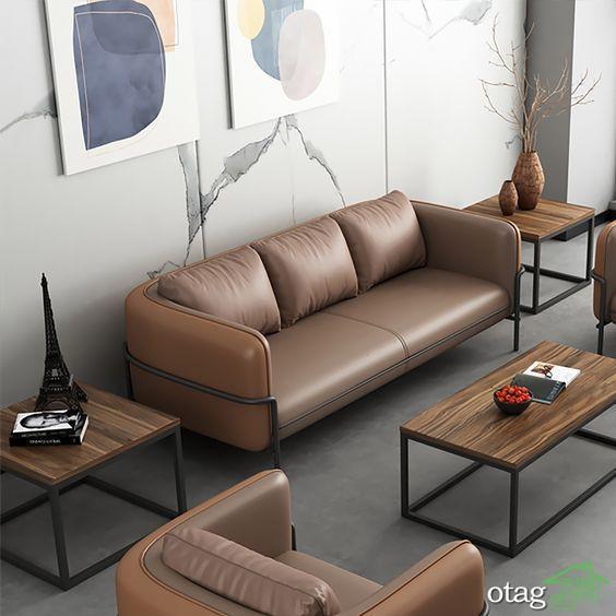 طرح های جدید مبل راحتی اداری مناسب اتاق انتظار و اتاق مدیریت