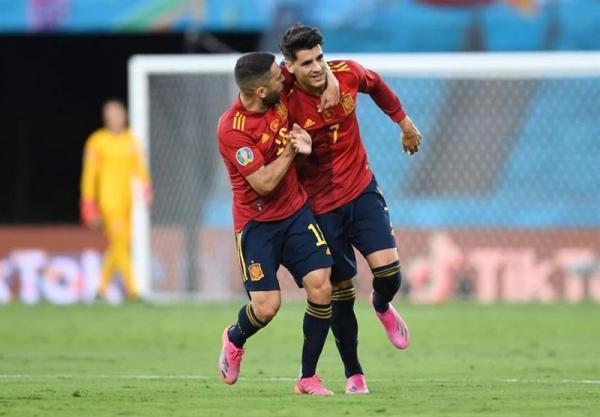 یورو 2020، جوردی آلبا؛ بهترین بازیکن ملاقات اسپانیا - لهستان