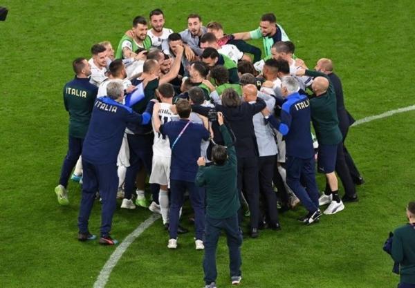 یورو 2020، رکوردشکنی ایتالیا با صعود به مرحله نیمه نهایی