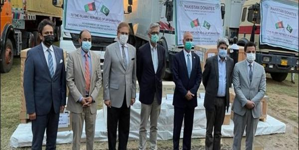 پاکستان کمک های بشردوستانه مقابله با کرونا به افغانستان ارسال کرد
